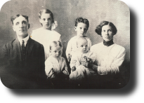 C.A. Ray and family
